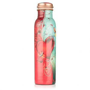 Love Life – Pure Copper Water Bottle