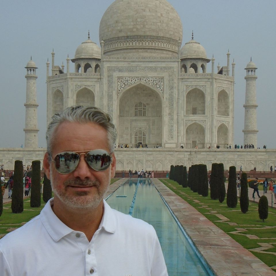 Mark Reeves in India