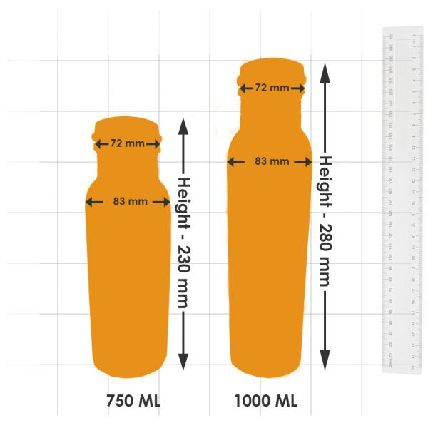 Bottle Size Dimensions and Comparison