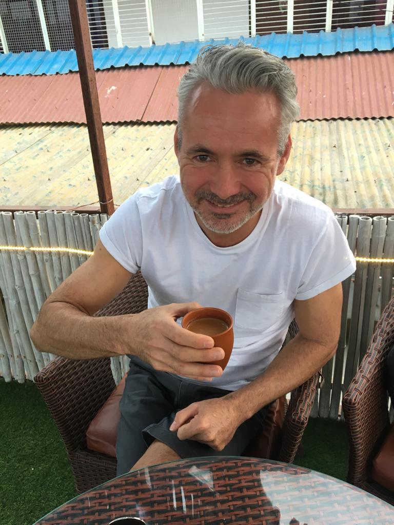 Mark, in India