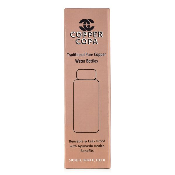 Copper Water Bottles - Plastic free packaging