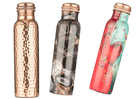 Copper Water Bottles UK - New Designs for 2020